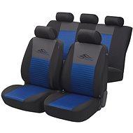 Walser Sitzbezüge das gesamte Fahrzeug Racing blau / schwarz - Autobezüge