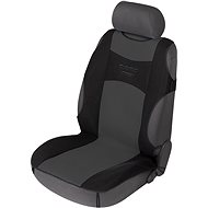 Walser seat covers on the front seats Tuning Star black / gray - Car Seat Covers