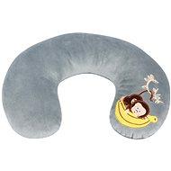Walser polštářek cestovní/krční límec Mini Monkey šedý (od 3 let) - Polštář