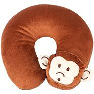 Walser polštářek cestovní/krční límec Monkey hnědý (od 5 let) - Polštář