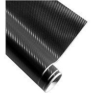 4CARS Fólie 3D CARBON se vzduchovými kanálky černá 1.52x10m - Fólie