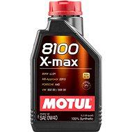 MOTUL 8100 X-MAX 0W40 1L - Olej