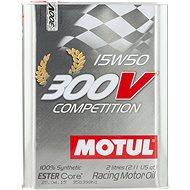 MOTUL 300V COMPETITION 15W50 2L - Oil