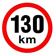 AGADOS Samolepka 130 km - Zubehör