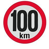 AGADOS Samolepka 100 km reflexní - Příslušenství