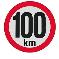 AGADOS Samolepka 100 km reflexní - Zubehör