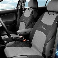 Compass seat covers front SHIRT 2pc dark gray
