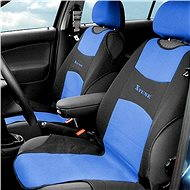 Compass seat covers front SHIRT 2pc blue