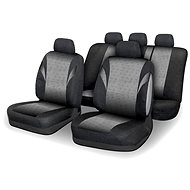 Compass seat covers set 9 pieces POLY gray AIRBAG