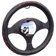 Compass steering wheel cover BLIND red