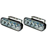 Světla denního svícení LED obdélník, 5 LED