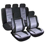 Potahy sedadel sada 9ks DELUXE vhodné pro boční Airbag - Autopotahy