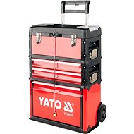 Yatom tool trolley 3 sections, 2 drawers