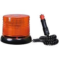 Maják oranžový 100 LED magnet - šroub 12/24V - Maják
