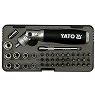 Yatom articulated ratchet screwdriver with 42 piece accessory box