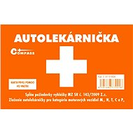 COMPASS First aid plastic box for the Slovak market - Vehicle First Aid Kit