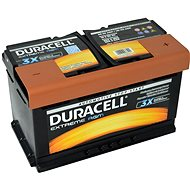 Autobaterie Duracell Extreme AGM DE 80 AGM, 80Ah, 12V ( DE80AGM ) - Autobaterie