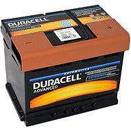 Autobaterie Duracell Advanced DA 62H, 62Ah, 12V ( DA62H ) - Autobaterie