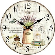Designer glass wall clock VM14AV004