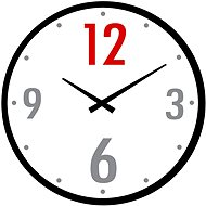 Designer glass wall clock VM14AV112B