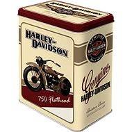 Metal bowl Harley Davidson