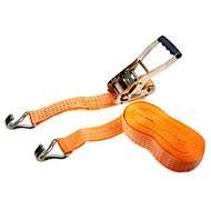 Clamping straps with ratchet LC2500 daN 5t / 8m strip 50mm ORANGE