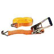 Straps with ratchet LC2500 DAN 5t / 10 m strip of 50 mm ORANGE