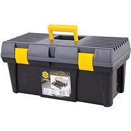 "VOREL Plastic Tool Box 20 ""2 locks of gray lid 50 cm"