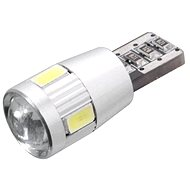 6 SMD LED bulb 12V T10 with resistor CAN-BUS ready white