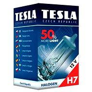 Bulb H7, 12V, 55W, PX 26 d + 50% TESLA - Car Bulb