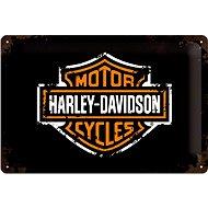Blechschild Harley Davidson