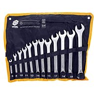 Set of combination wrenches 12 pcs 6-22 mm CrV