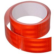 Reflective adhesive tape 1m x 5 cm red