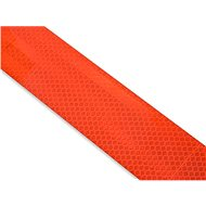 Self-adhesive reflective tape-divided 1m x 5 cm red