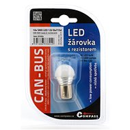 Compass Žiarovka 9 SMD LED 1chip 12V BAY15d 1ks