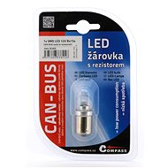 Compass Žiarovka 1 SMD LED 6chips 12V BA15s 1ks