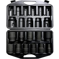 "Geko Socket Set 1 "", 11pcs, 17-41 mm"