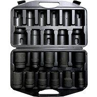"""Geko Sada nástrčných hlavíc 1 """", 11ks, 17-41mm - Príslušenstvo"""