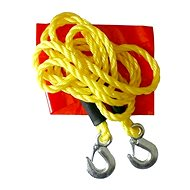 Compass 3000 kg tow rope with carabiners