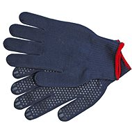 "VOREL garden gloves, cotton blue ""PSD"""