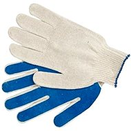 "VOREL garden gloves, cotton coated PVC ""B1"""