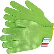VOREL garden gloves green cotton FRESH