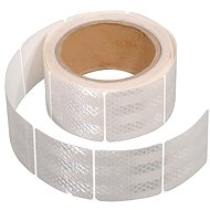Compass Self-adhesive reflective tape divided by 5 meters x 5 cm white (role 5m)