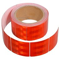 Compass Self-adhesive reflective tape divided by 5 meters x 5 cm red (role 5m)
