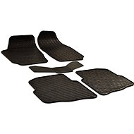 Rubber mats for Skoda Fabia I (2000-2007) - 5 pieces