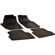 Rubber mats for Skoda Fabia II (2007-2014) - Car Mats