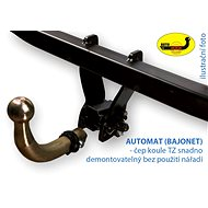 AUTOHAK towing equipment for Škoda Superb I 2001-08.2008 - Carrier