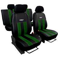 SIXTOL Abdeckungen Leder mit Alcantara GT grün - Autobezüge