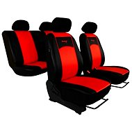 Sixtol black and tan leather Seat Covers