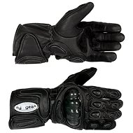 TECH leather moto gloves with protectors vel. M